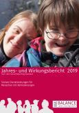 Cover des Jahres- und Wirkungsberichts 2019