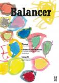 Coverbild des Balancer Nr. 79 bunte Formen mit gelber Sonne rechts oben