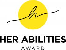 Logo Her Abilities Award